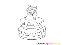 Torte Clipart Schwarz