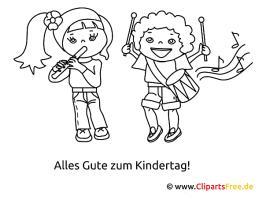 Kindertag Malvorlagen und Ausmalbilder