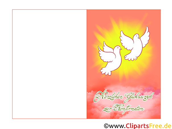 Bilder zur Konfirmation Symbole gratis