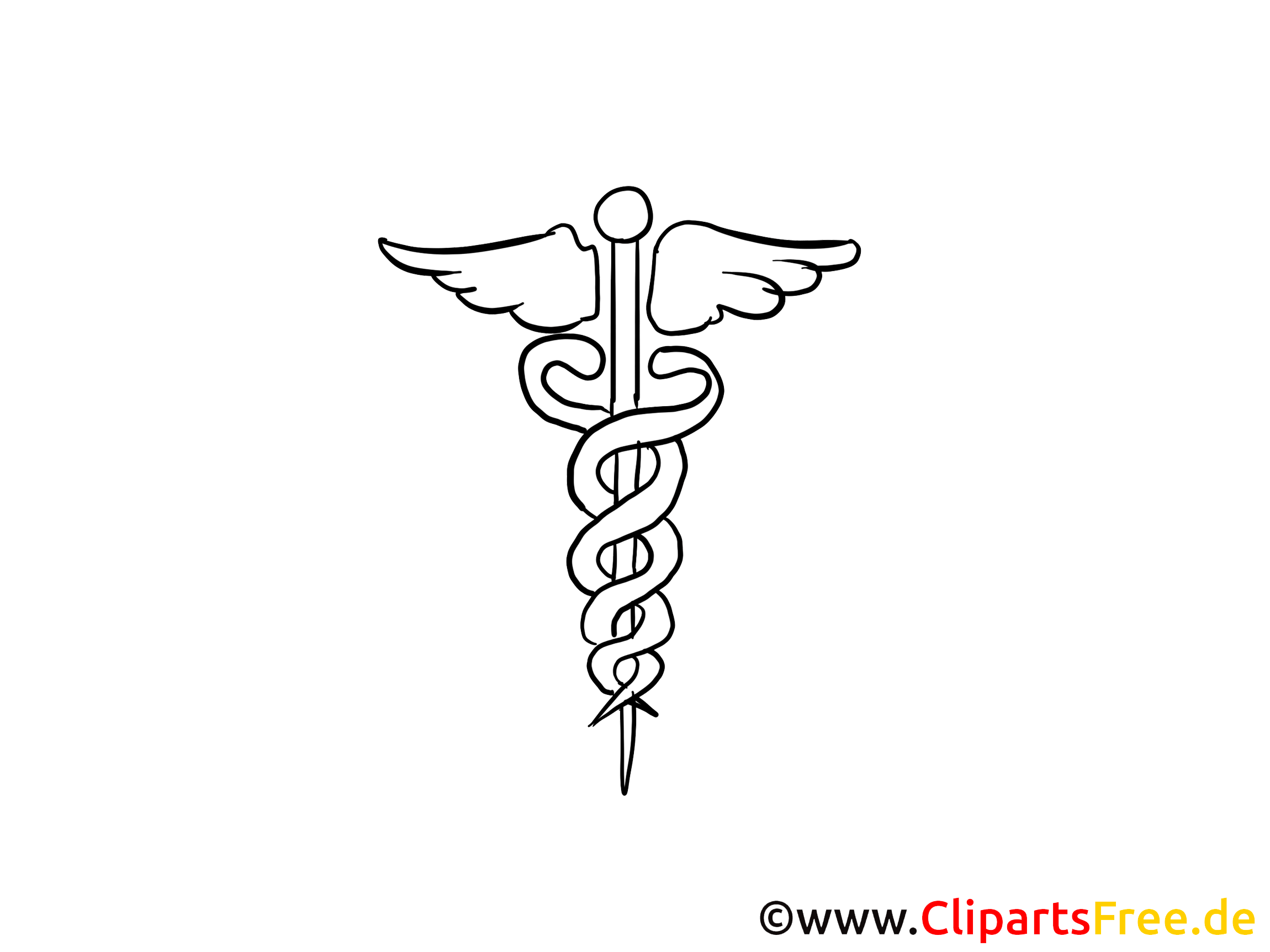 Alternativmedizin Clipart Bild Cartoon
