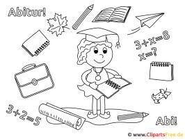 Ausmalbilder Schulanfang
