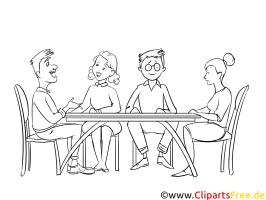 Elternabend Malvorlage