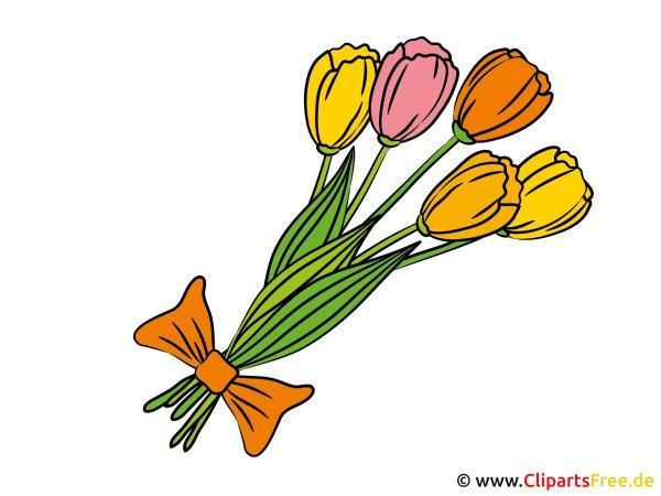 Blumenstrauss Clip Art