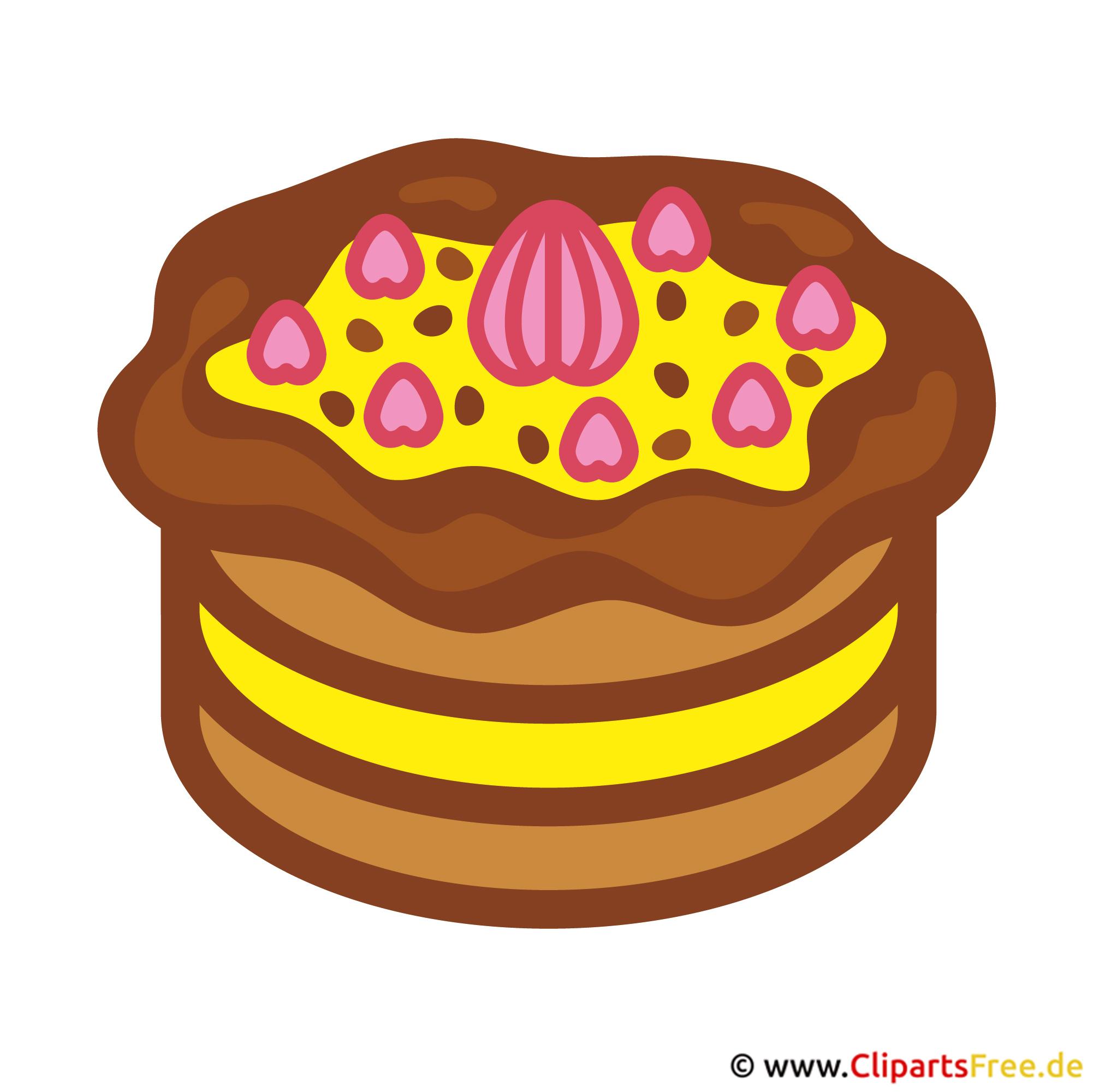 Torte BildClipart gratis