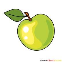 Gruener Apfel Bild