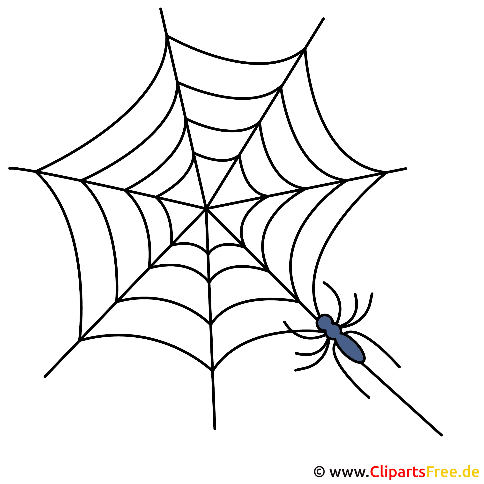 Spinne Cliparts kostenlos