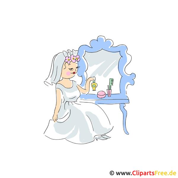 Braut Clipart  Hochzeit Bilder kostenlos