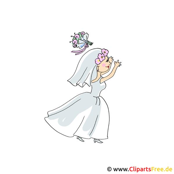 Braut Clipart