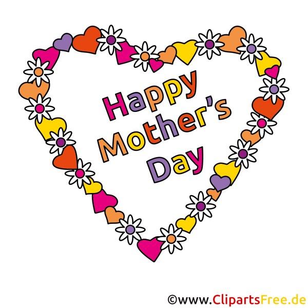 Schnen Muttertag Clipart