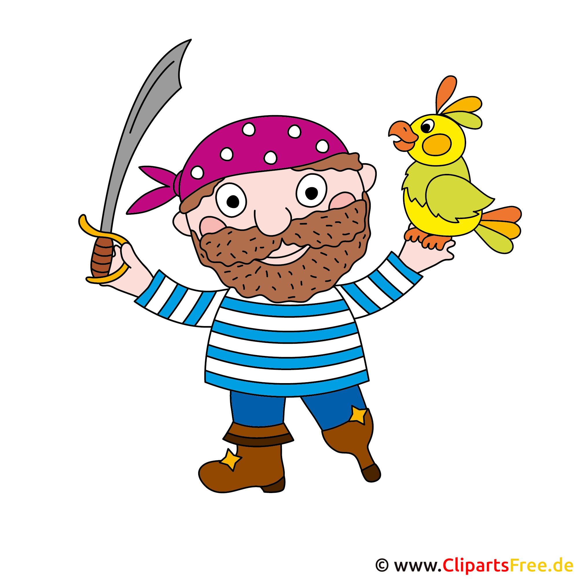 Piratenkostuem Bild