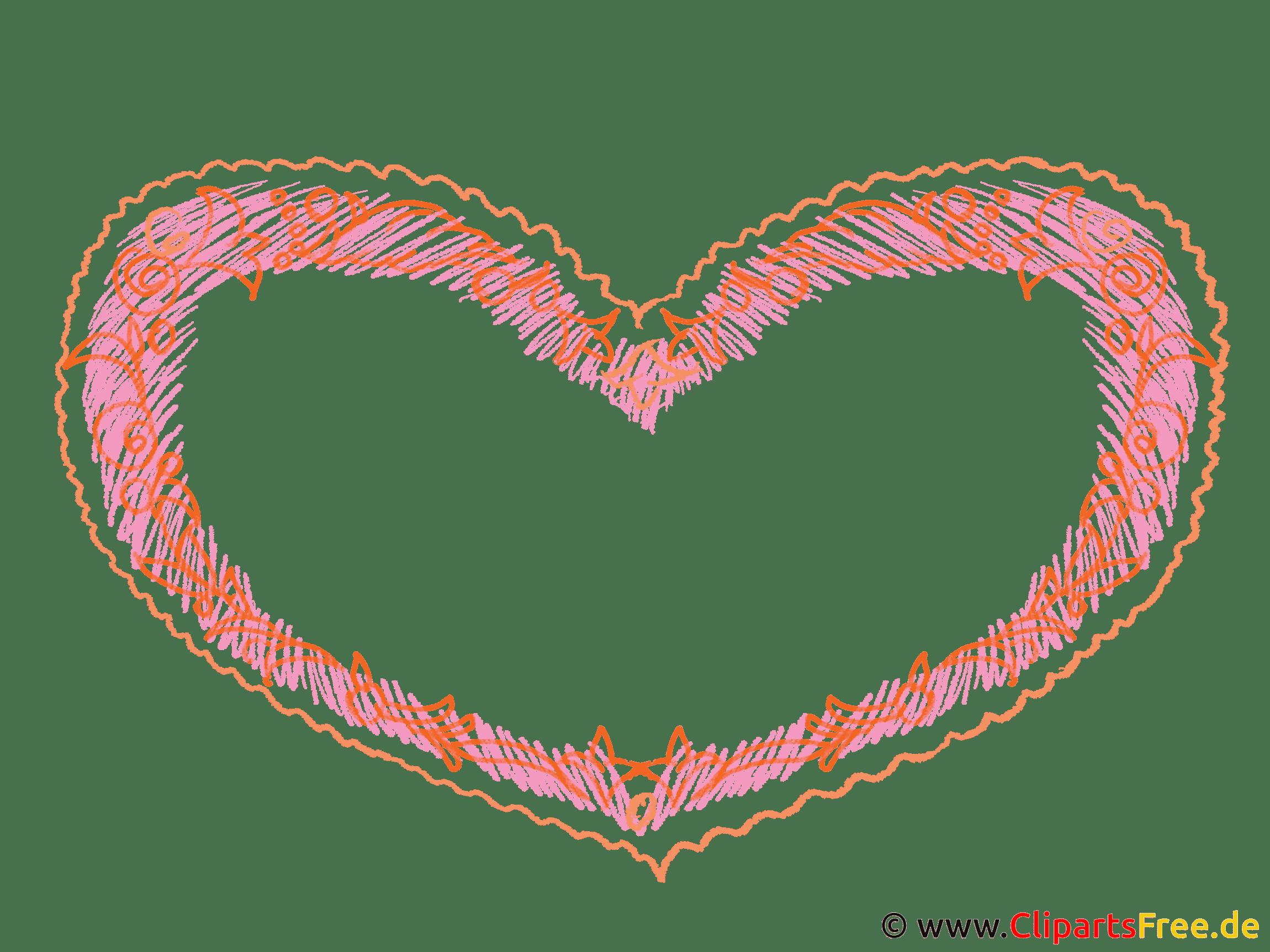 Herz Bilderrahmen
