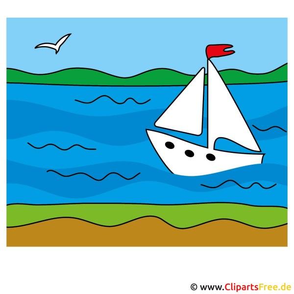segelschiff clip art - lizenzfreie