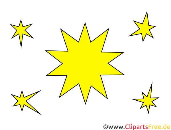 stern clipart illustration bild