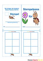 Stempelpass Bilder Cliparts Gifs Illustrationen Grafiken kostenlos