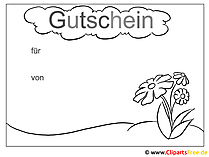 Gutscheine Vorlagen Bilder Cliparts Gifs Illustrationen