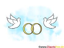 Malvorlage Ringe Hochzeit