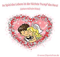 Hochzeit Bilder Cliparts Illustrationen gratis
