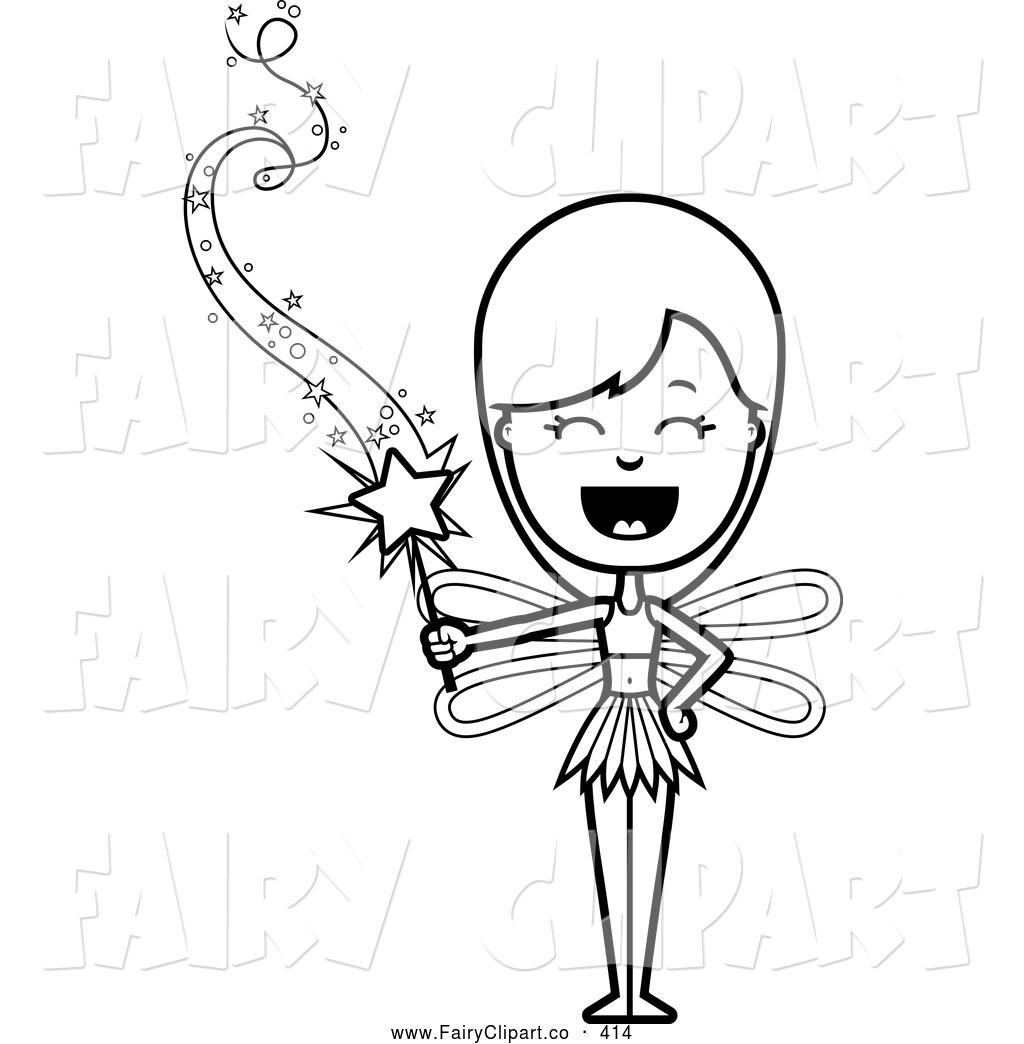 Clip Art Black And White Magic Clipart
