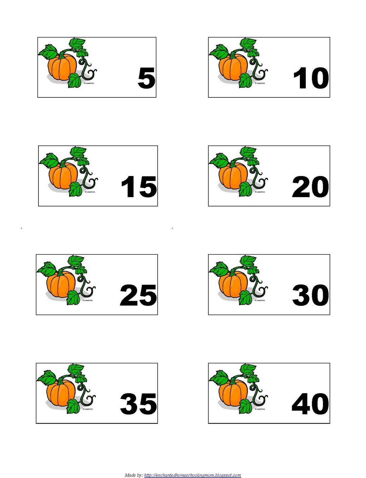 Skip Counting Clipart