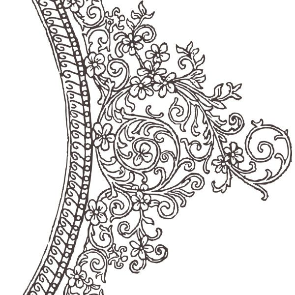 Decorative Border Clip Art Free Vector In Open Office