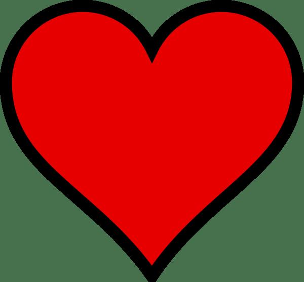 Day of Valentine Heart Clip Art