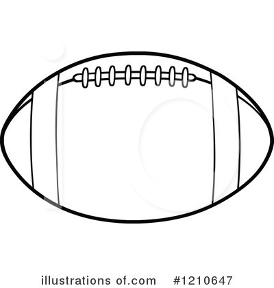 American football is modified rugby; American Football Outline Clip Art Rf Football Clipart Rhyja7 Clipart Suggest