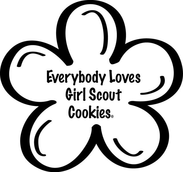 Cookie Coloring Page Girl Scout Cookie Recipes Pinterest #gkCuPd