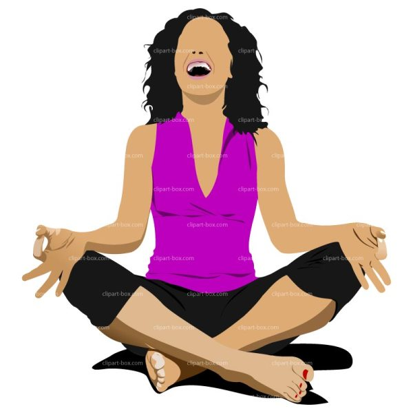 Funny Yoga Clipart - Suggest