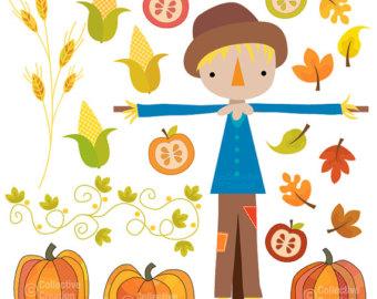 rustic fall pumpkin clipart