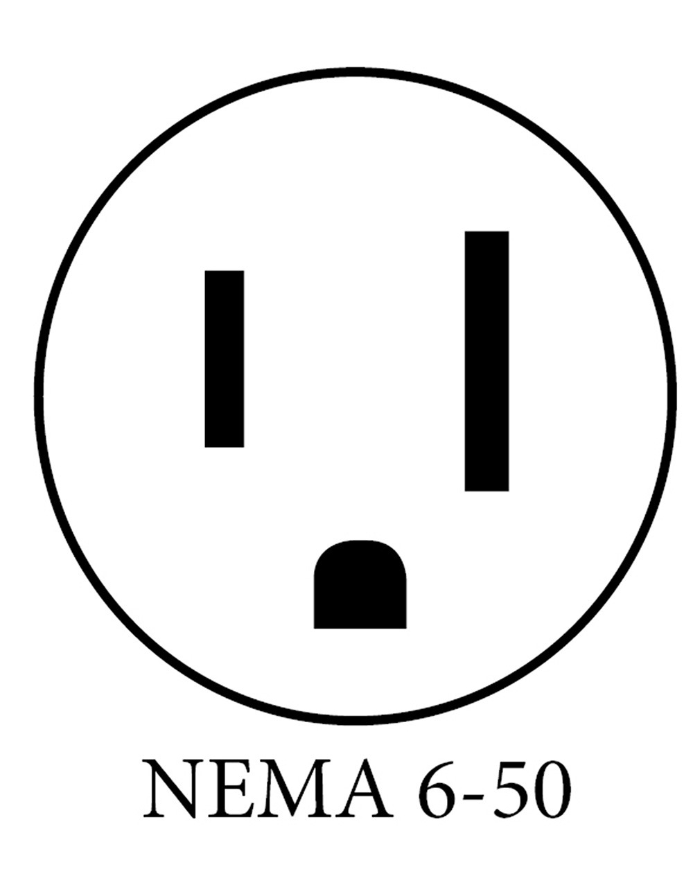 medium resolution of what plugs are available on ev charging stations nema 6 50r receptacle wiring diagram nema 6 50 plug diagram