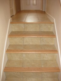 Ceramic Tile On Stairs | Tile Design Ideas