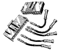 Ford Engine Fan Harness Connector Wiring Kit