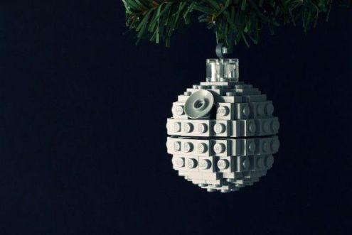 death star ornament bola navidad estrella de la muerte