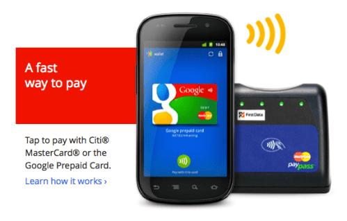 google wallet clipset