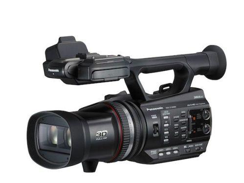 panasonic 3D hdcz 10000 videocamara semiprofesional clipset