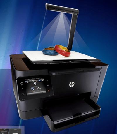 HP 3D scanner clipset escaner