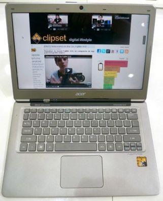 acer aspire  s3 ultrabook edge clipset