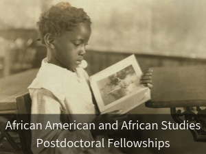 African and African American Studies Postdoc