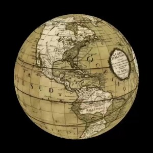 Cassini Terra Globe