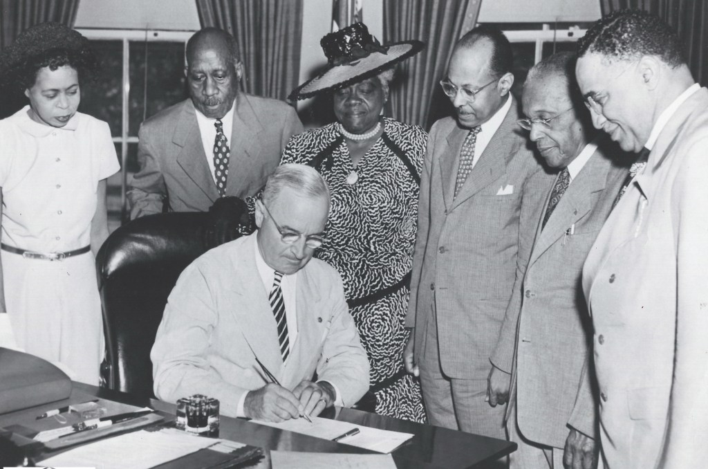 signing of Black History Month