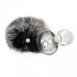 Crystal Minx Magnetic Bunny Tail Butt Plug