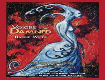 Clive Barker Provides Cover Art for New Short Story Collection!!!