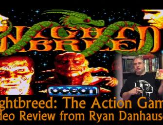 Nightbreed The Action Game (Amiga 500) Video Review