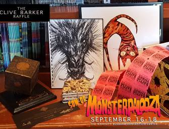The Clive Barker Raffle