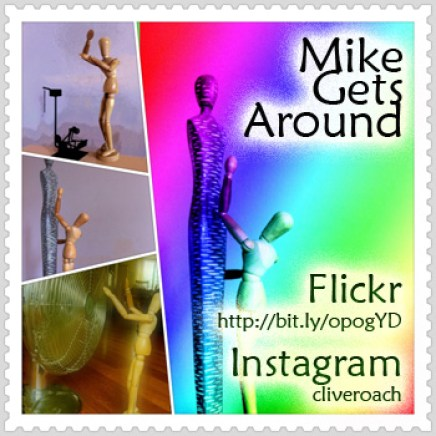 """""""Mike Gets Around"""" - The series on Instagram, Flickr and Stumbleupon (2011)"""