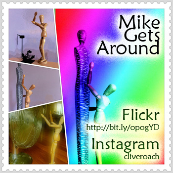 """Mike Gets Around"" - The series on Instagram, Flickr and Stumbleupon (2011)"