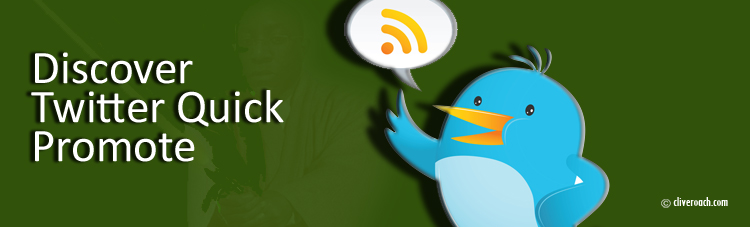 Discover Twitter Quick Promote