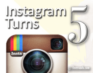 Instagram Turns 5 - let's celebrate!