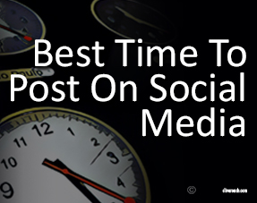 The best times to post on social media are the slots your account history show are the very best FOR YOU