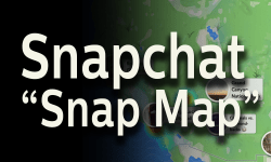 Discover Snap maps from Snapchat
